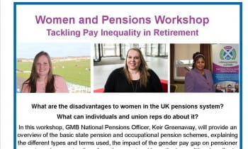 Women and Pensions - Tackling Pay Inequality in Retirement Workshop Glasgow
