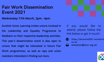 Fair Work Dissemination Event 2021